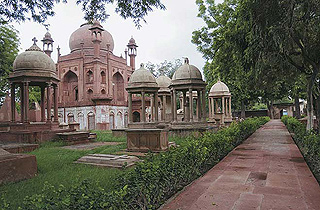 The cities within Agra