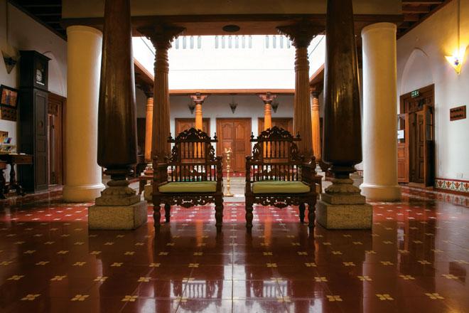 The lounge at La Maison Tamoule - Pondicherry Once More: Stay : Outlook Traveller