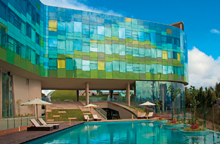 A glass palace in Bangalore