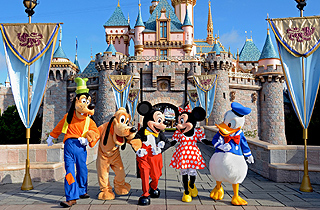 Mickey and Donald coming to India