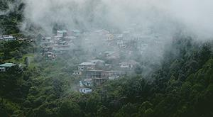 Head in the clouds in Mussoorie