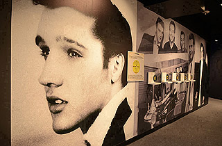 Don't miss the Elvis exhibition when you are in Vegas