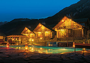 Rest and recreation in the mountains: hotels in Manali