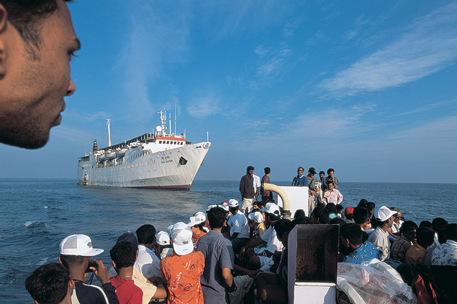 how to reach lakshadweep by train