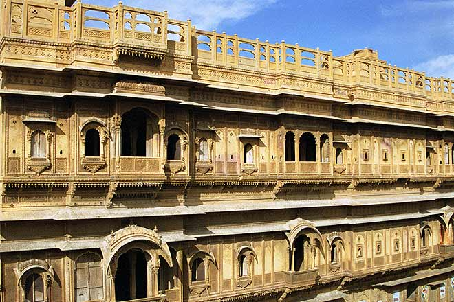 Extravagant abodes—old havelis of Jaisalmer