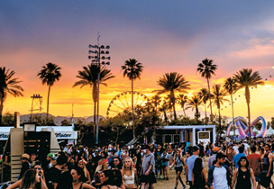 The Coachella Valley Music and Arts Festival