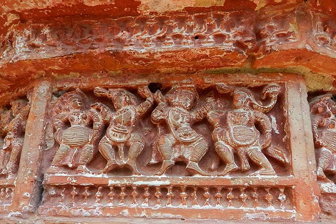 Carvings in the Ramchandra Temple