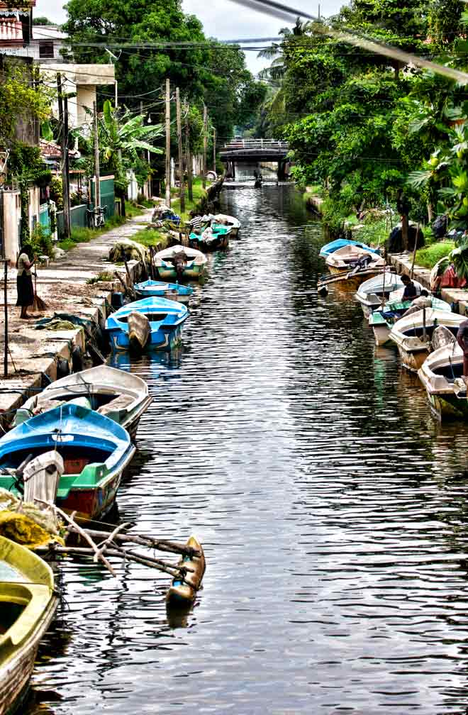 The Dutch Canal at Negombo