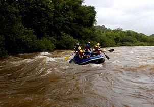 Goa: Rafting on The Mhadei River